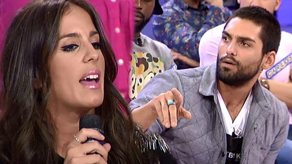 """Anabel, a Isaac: """"Me parece patético que tu novia gane dinero a costa de Kiko Rivera"""""""