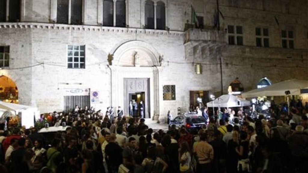 Máxima expectación en Perugia