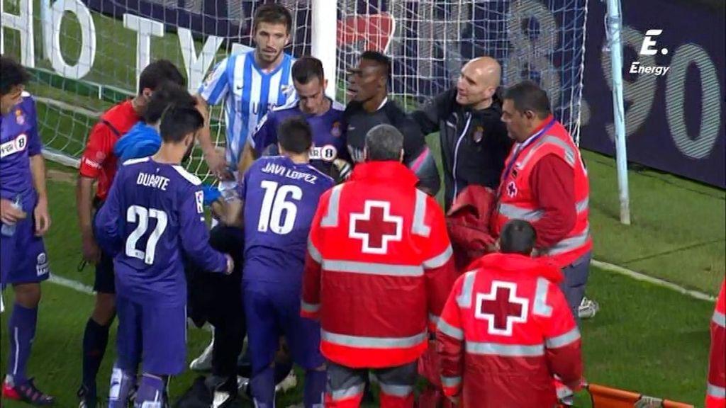 Sergio García sentencia el partido con su gol en el último minuto... y se lesiona