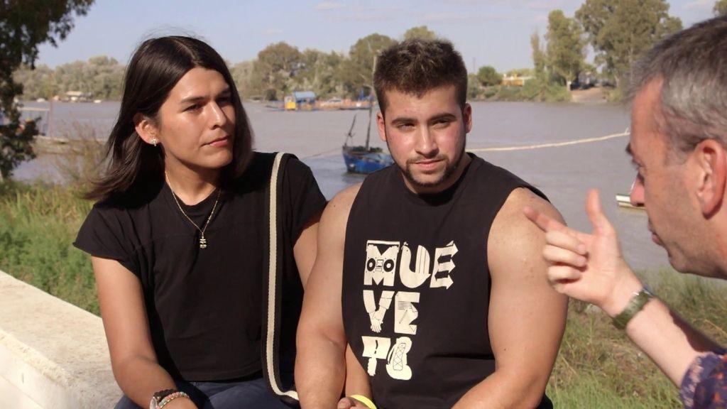 Matías y Valentina, una de las pocas parejas transgénero que hay en España