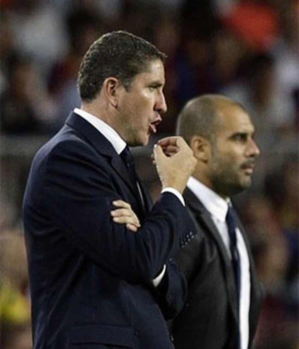 """El entrenador del Villareal CF asegura que lo de Guardiola van a """"hacer historia"""". Foto: Reuters."""