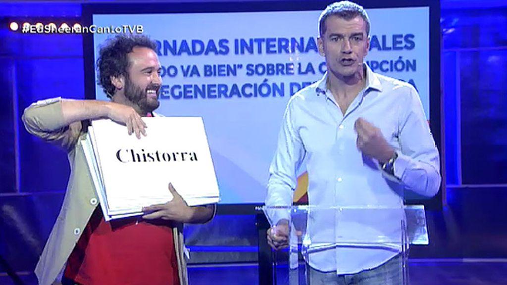 """El mitin 'kamikaze' de Toni Cantó: """"¿Todo va bien? No, señor Rajoy"""""""