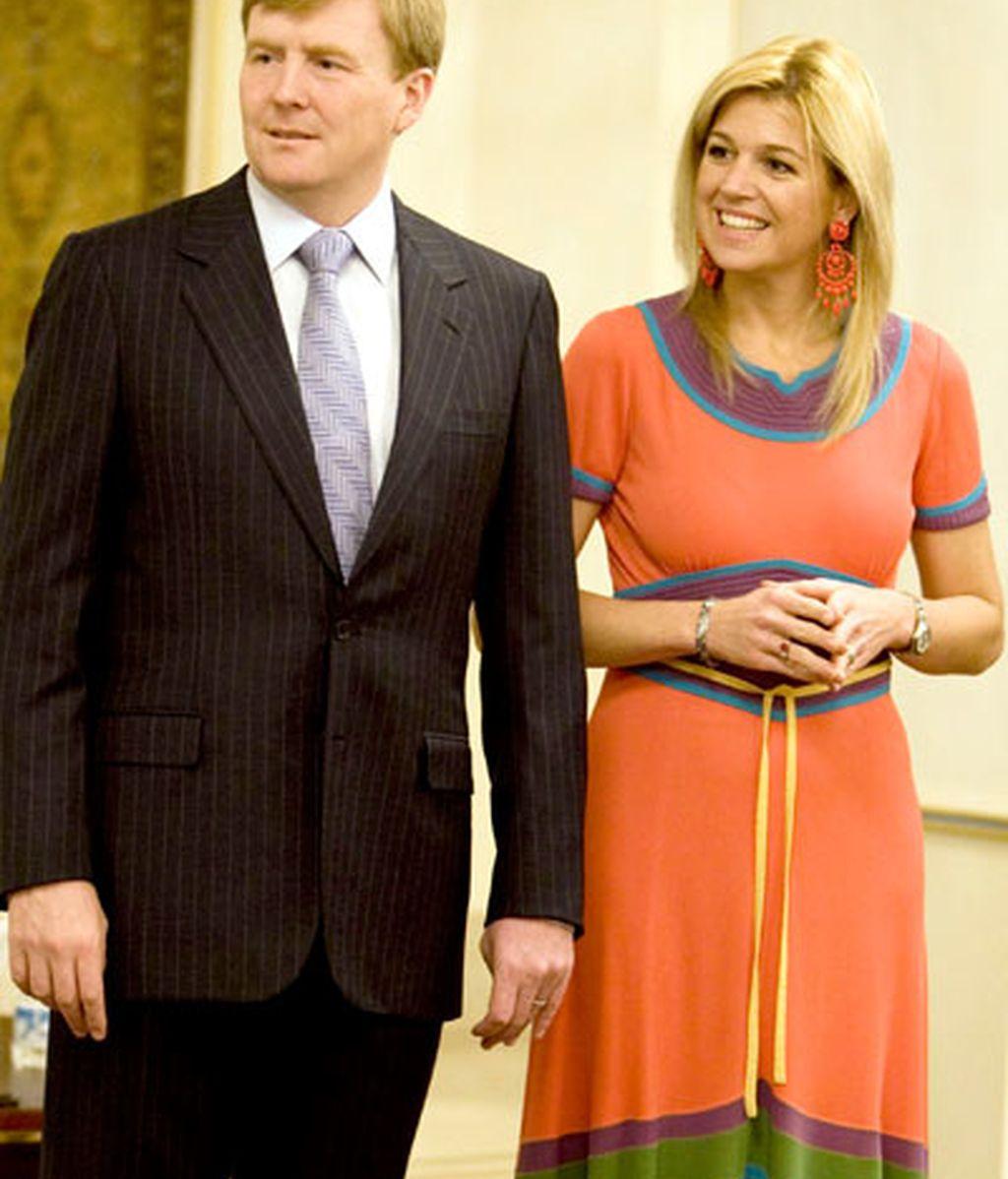 Los Príncipes de Orange, Guillermo y Máxima de Holanda
