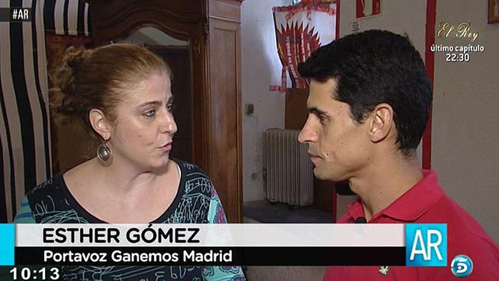 """E. Gómez, portavoz de 'Ganemos': """"Estamos en condiciones de ganar Madrid"""""""