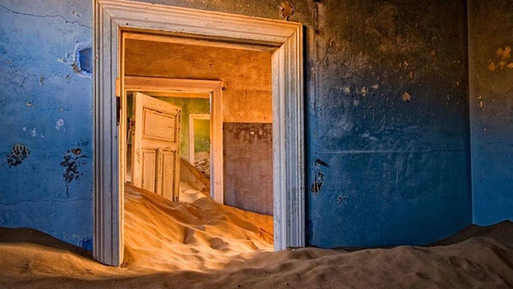 Kolmanskop, la ciudad enterrada en el desierto de Namibia