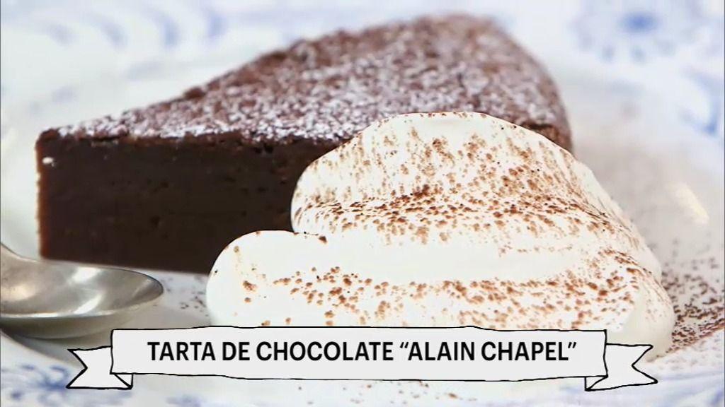 Robin Food te enseña a hacer paso a paso una tarta de chocolate aristocrática