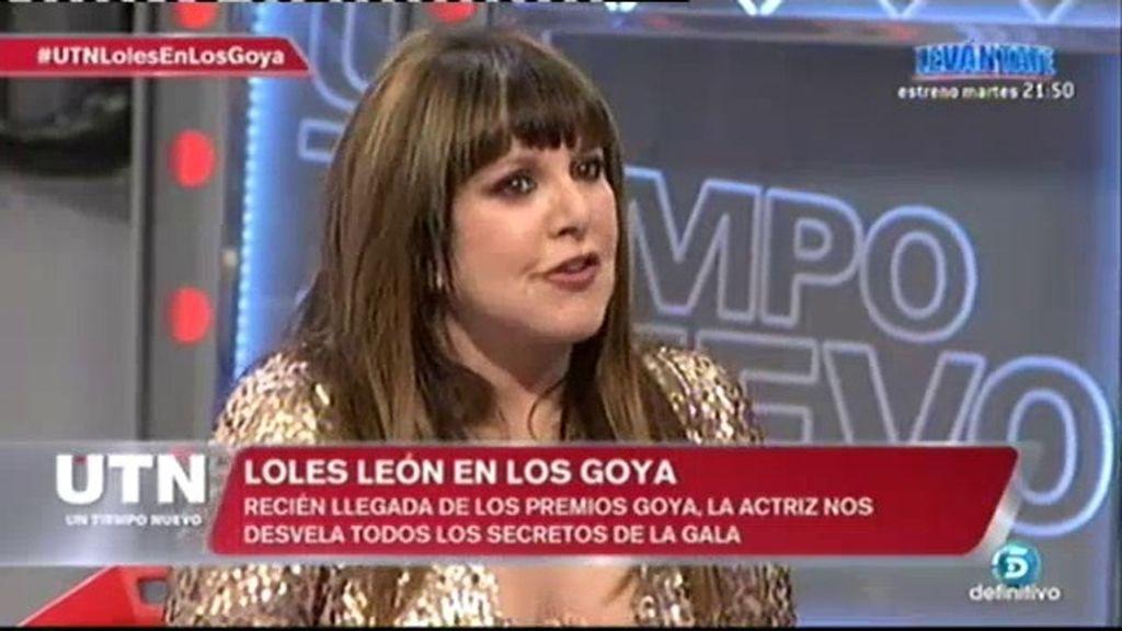 """Loles León: """"Le diría a Wert: 'un país sin cultura es un país invisible'"""""""