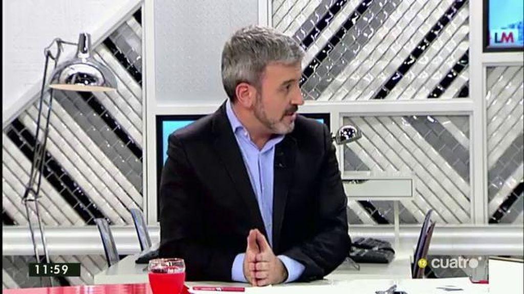 """Jaume Collboni: """"Podemos arrancó las conversaciones con condiciones imposibles"""""""