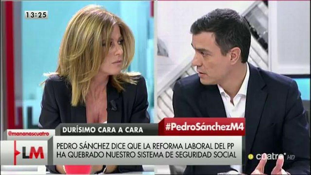 """Sánchez: """"Votar a otras formaciones que no sean el PSOE significará perpetuar a Rajoy cuatro años más en el gobierno"""""""