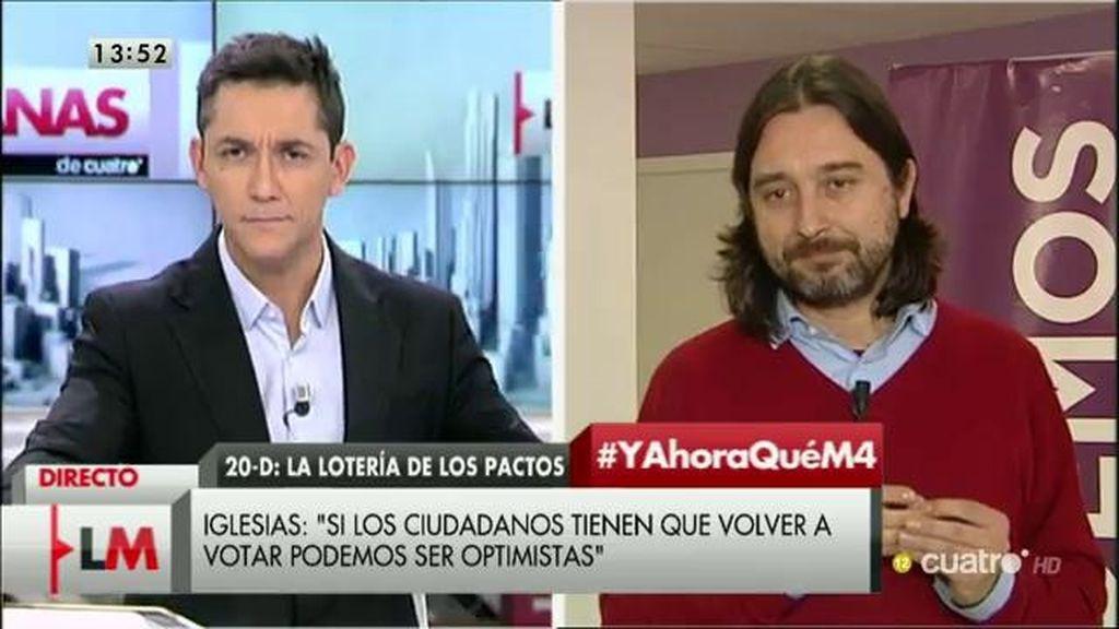 """Rafael Mayoral: """"Creemos que hay que debatir los encajes territoriales"""""""