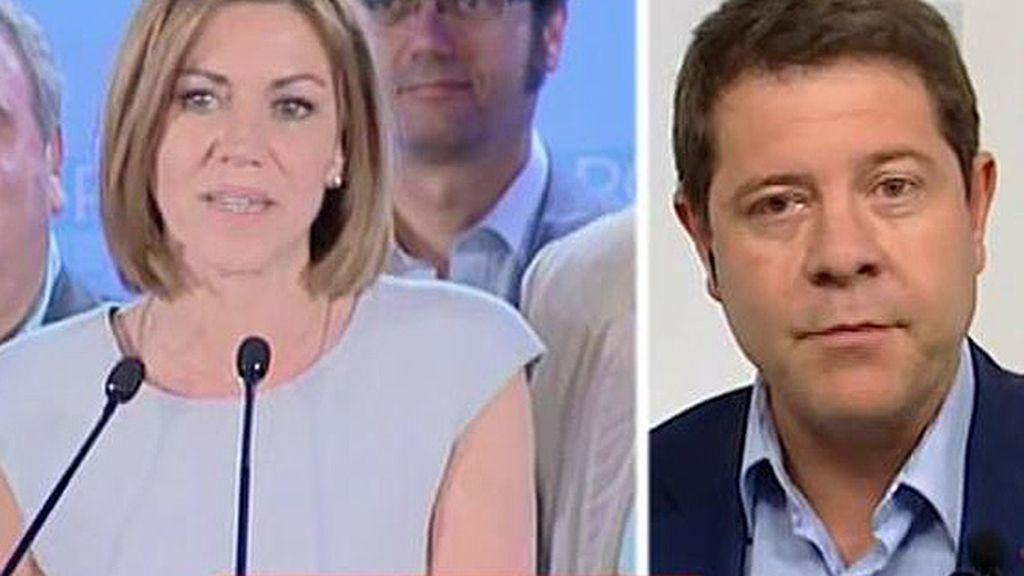 """Emiliano García - Page, sobre Cospedal: """"La huella que ha dejado ha movilizado tanto el voto que lo va a tener muy difícil"""""""