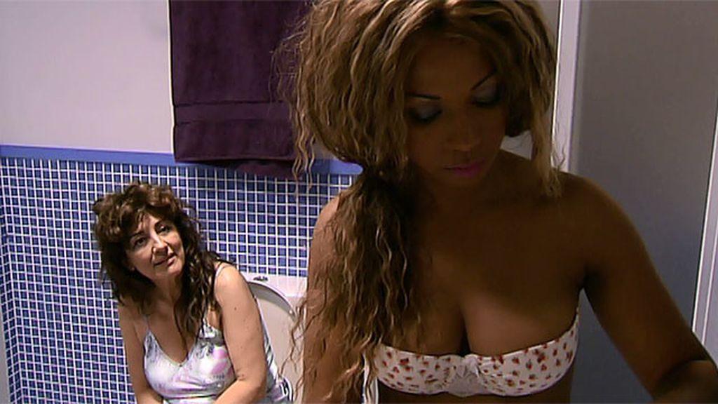 Una gogó brasileña vuelve loco a Fran