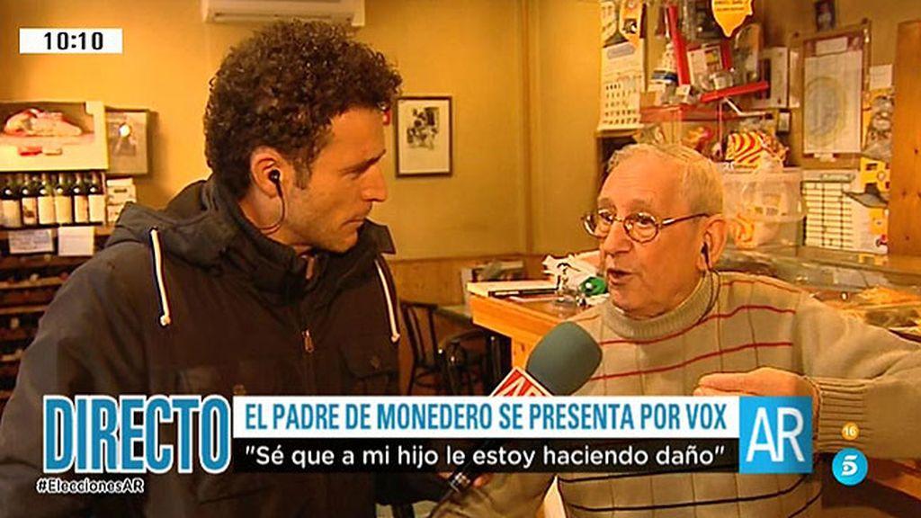 mejor servicio cbe19 b3731 Salvador, el padre de Monedero: