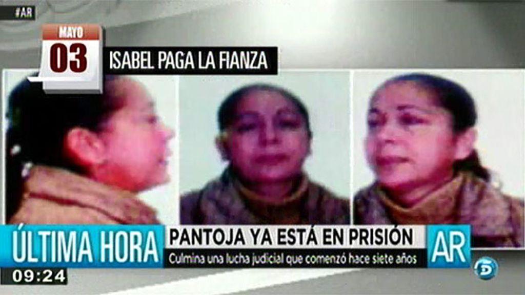 Cronología del caso Pantoja: de su detención a su ingreso en prisión