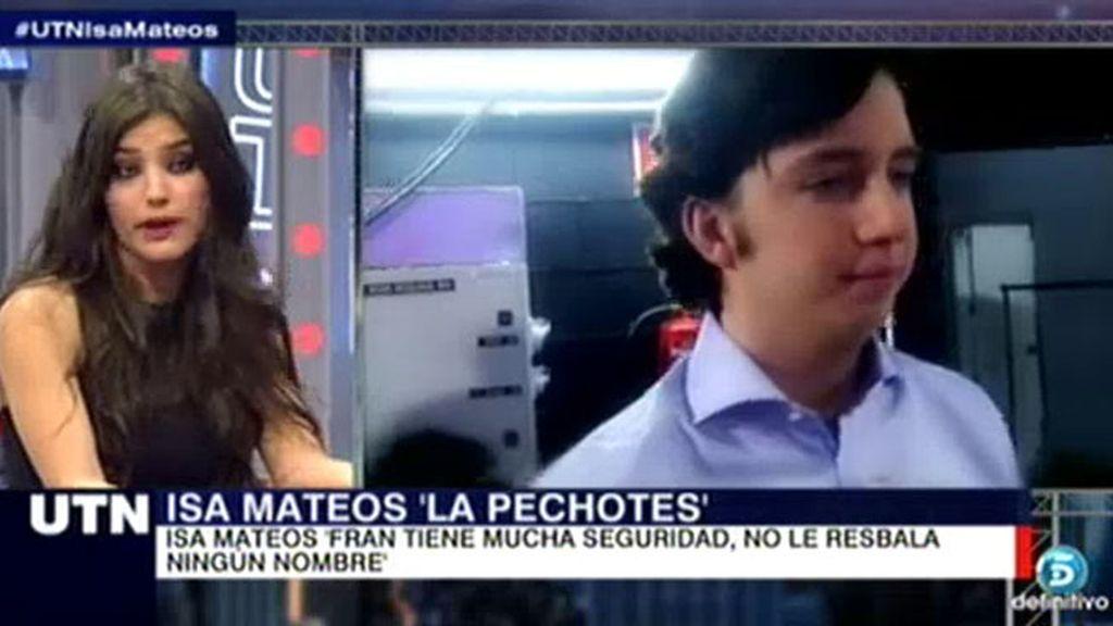 """Isabel Mateos: """"Empecé a ir al chalet de El Viso con 16 años"""""""