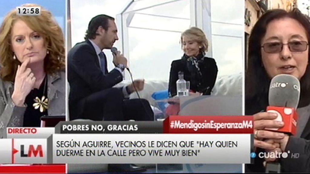 """Gloria Lalinde: """"Lo que esperamos de nuestros políticos es más política social"""""""