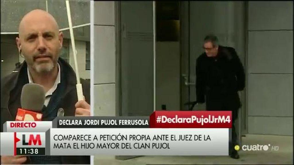 Jordi Pujol Ferrusola declara ante el juez De la Mata