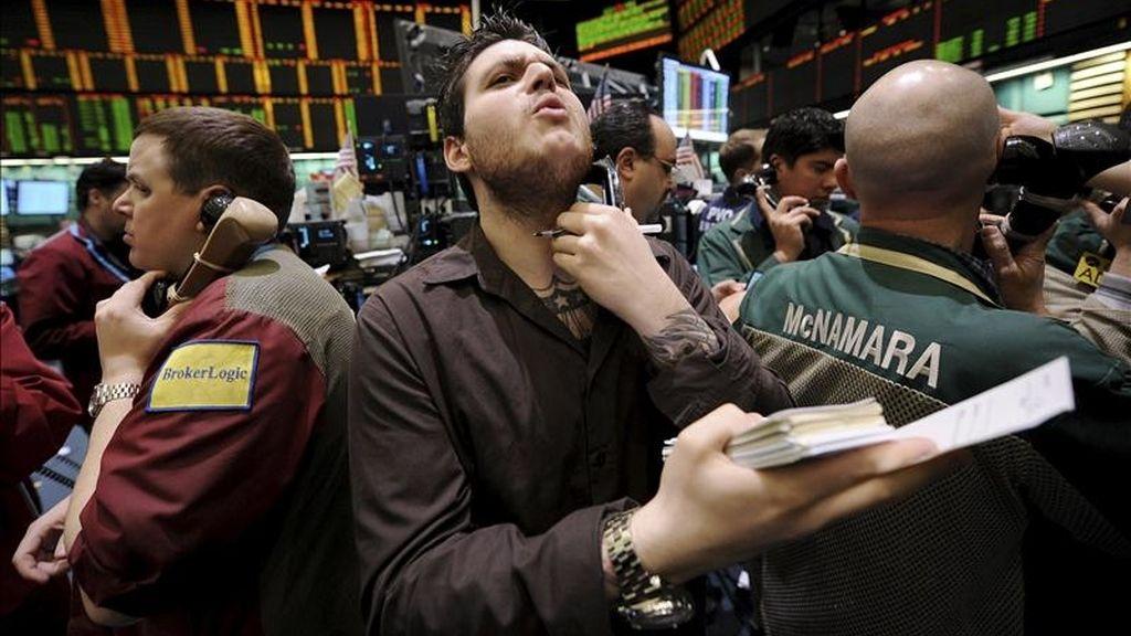 Al cierre el selectivo S&P 500 bajó un 0,18 % y el índice compuesto del mercado Nasdaq retrocedió un 0,33 %. EFE/Archivo
