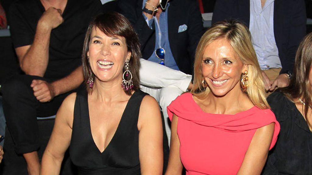 Mabel Lozano y Marta Robles en Ángel Schlesser