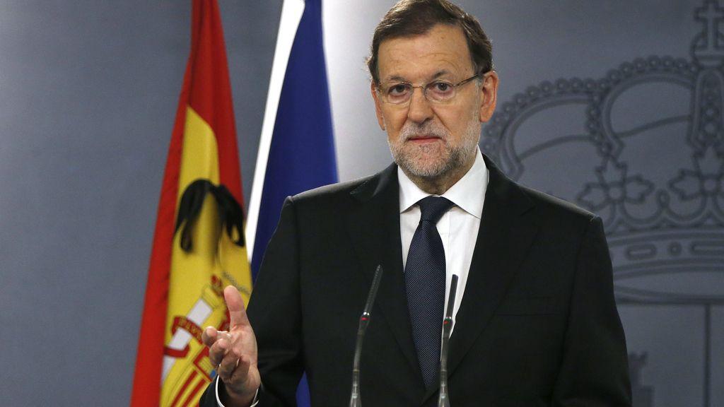 """Mariano Rajoy: """"Hoy, todos somos Francia"""""""
