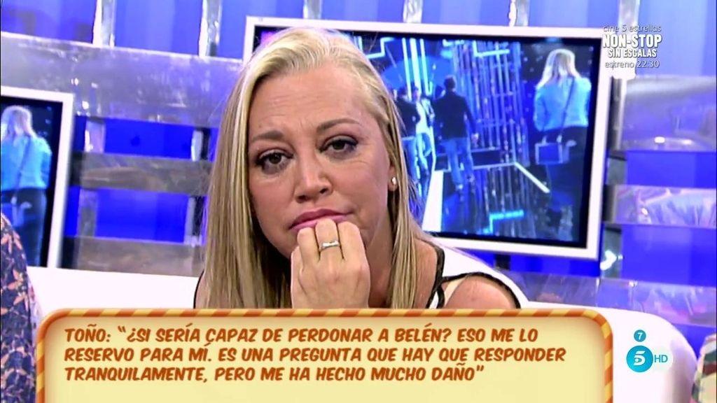 'esdiario' publica un mensaje en el que Belén pide a Toño que le guarde dinero