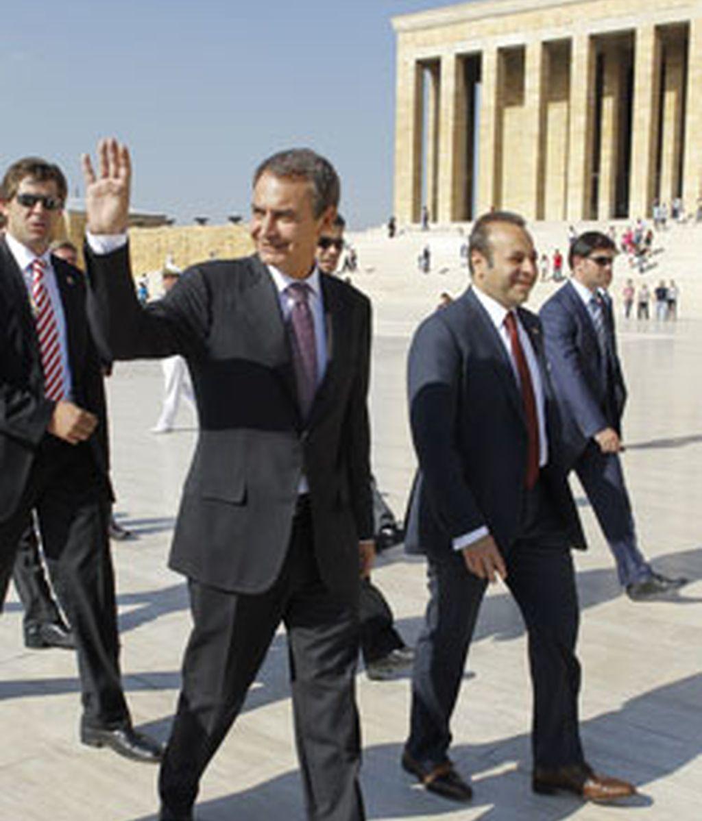 El presidente del Gobierno español, José Luis Rodríguez Zapatero. VÍDEO: Atlas