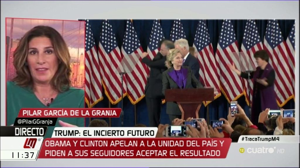 """García de la Granja: """"Es sorprendente que más del 50% de las mujeres votara a Trump"""""""