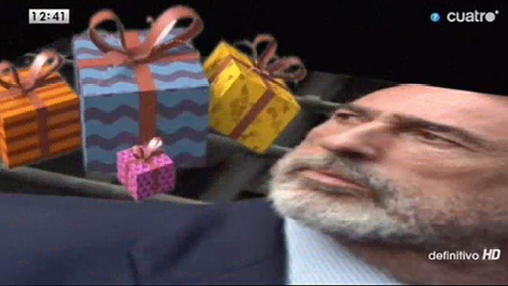 Los regalos de la Gürtel