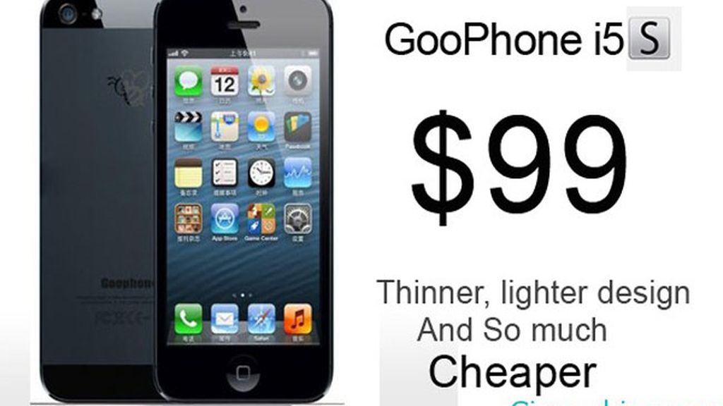 Goophone iPhone 5