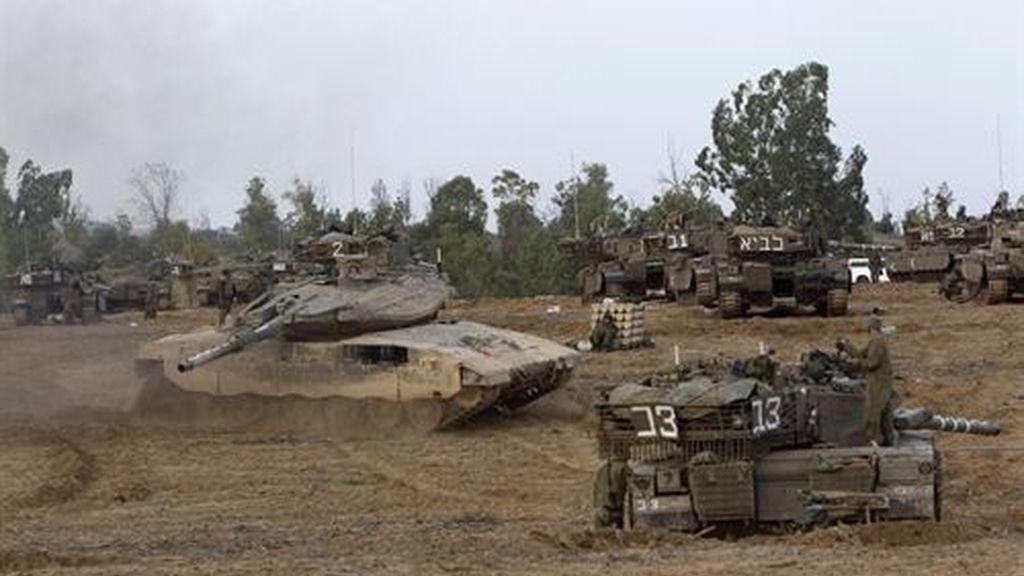 Israel retira a sus militares de la frontera con Gaza