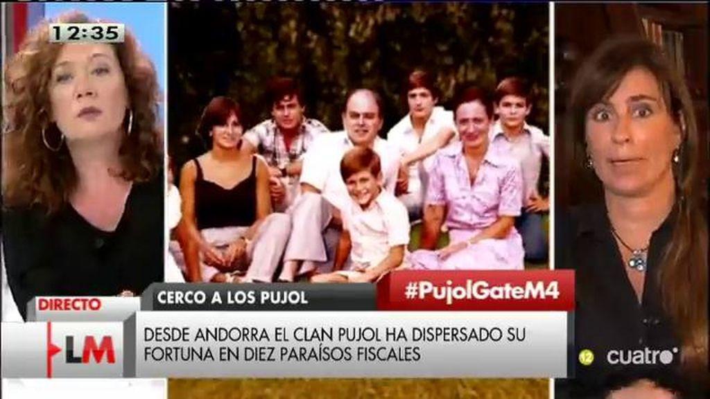 """Victoria Álvarez: """"Creo que el de los Pujol será el mayor caso de corrupción de Europa"""""""