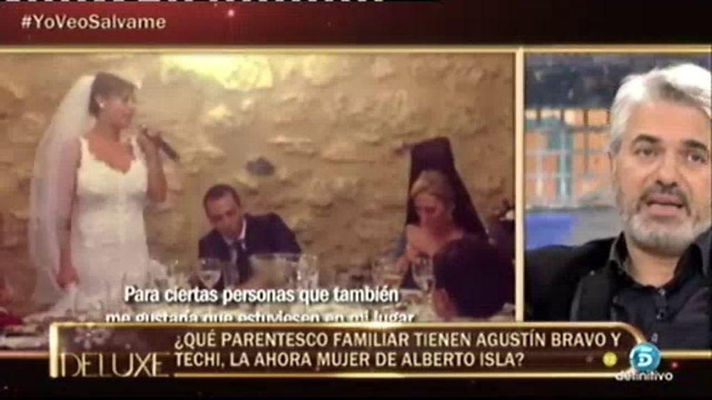 "Agustín Bravo: ""Soy tío segundo de Techi pero no fui a la boda"""