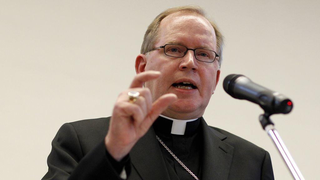 El arzobispo de Utrecht, Win Eijk en la conferencia de Zeist, Holanda
