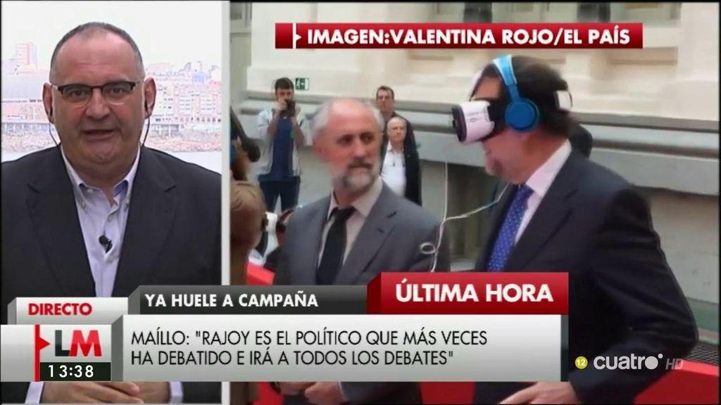 """Antón Losada: """"No puedo evitar bautizar a Rajoy como Robojoy"""""""