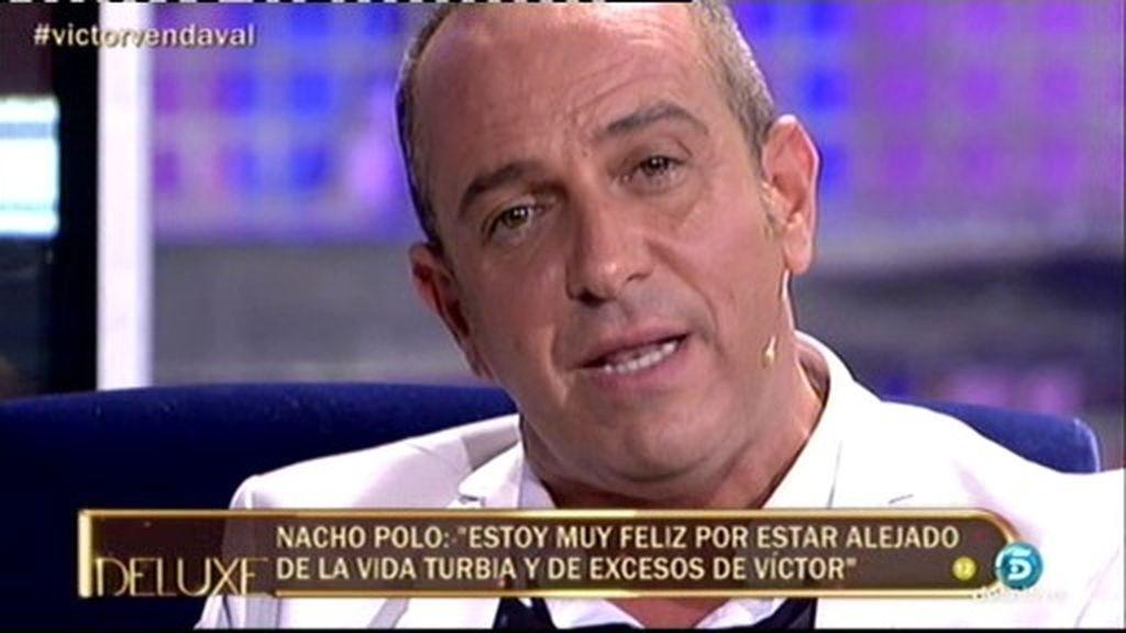 """Víctor, a Nacho Polo: """"Víctor ha vuelto, con la misma sonrisa y a pedir cuentas"""""""