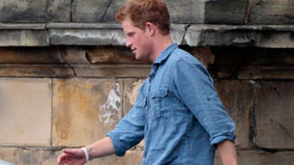 El príncipe Harry veranaea en Mallorca con unos amigos. Foto:Reuters