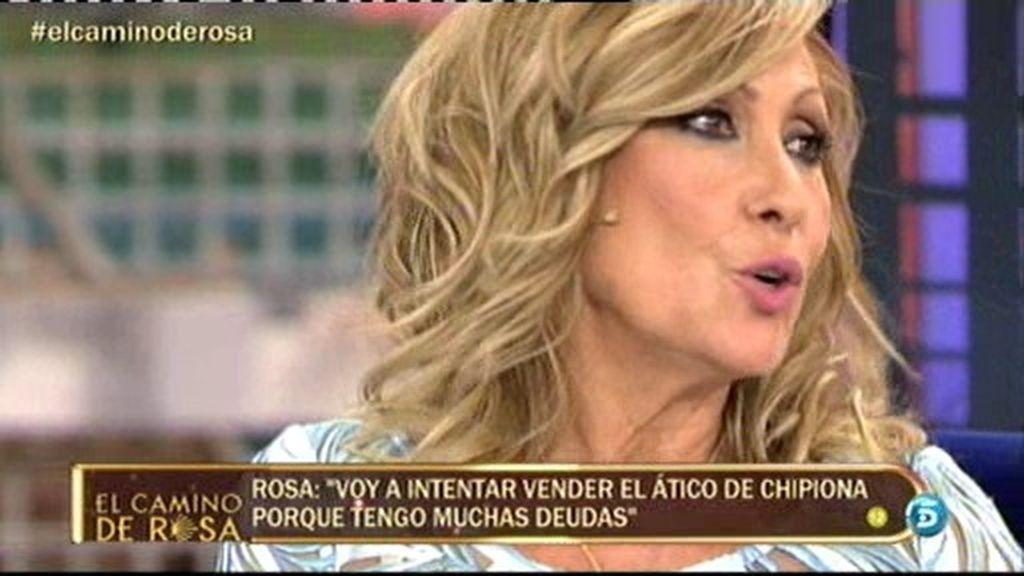 """Rosa Benito: """"Amador quiere joderme la vida pero no puede"""""""