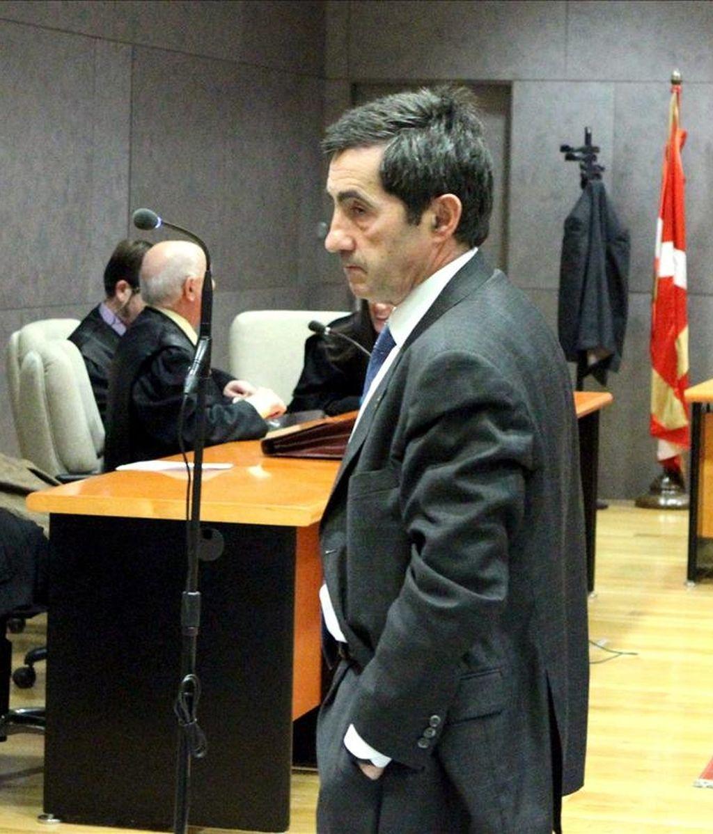 El que fuera jefe de inspección de la Hacienda Foral vizcaína Juan Ramón Ibarra. EFE/Archivo