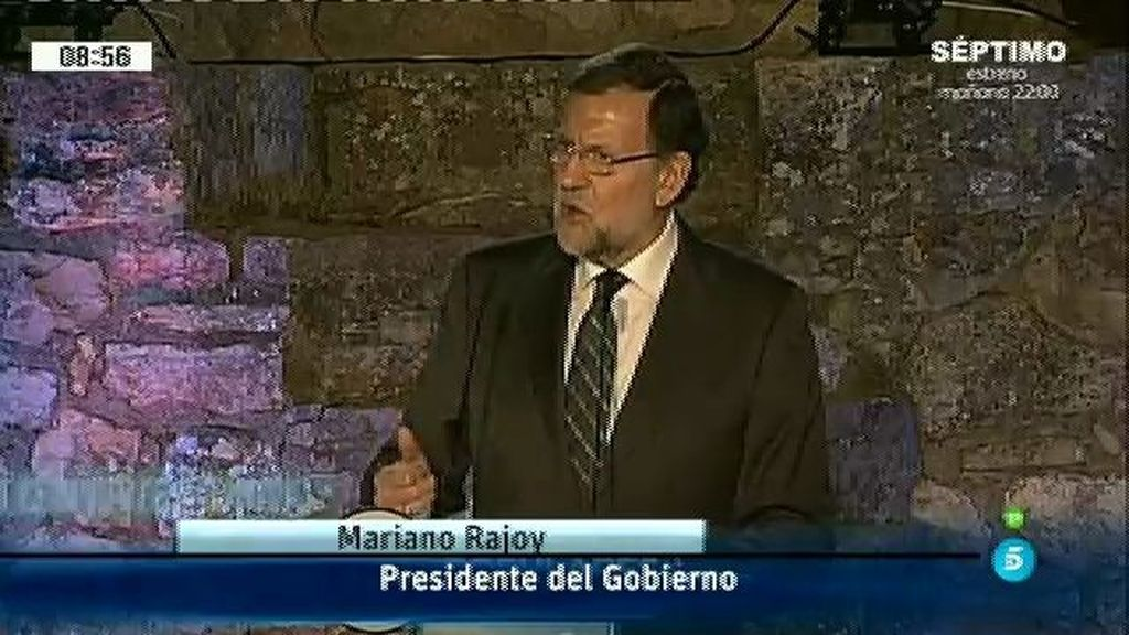 """Mariano Rajoy: """"Si en algún momento un país tiene que estar junto, es hoy"""""""