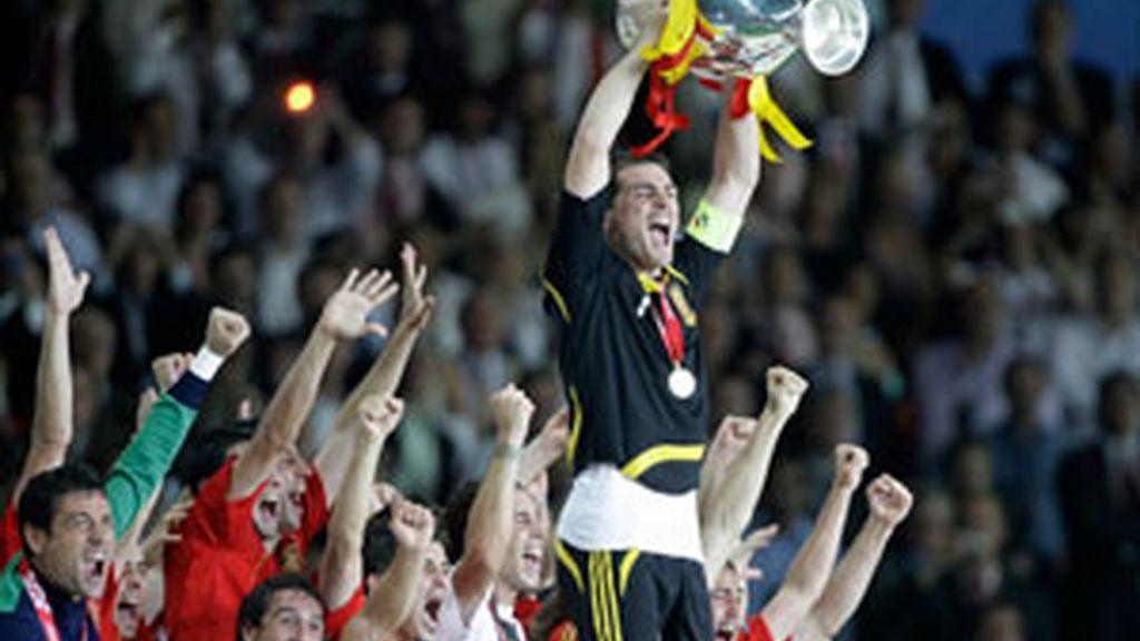 España defenderá su título de Campeona de Europa. Foto: GTres