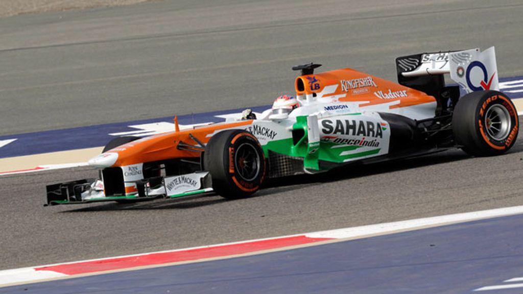 Di Resta manda en los primeros libres y Alonso termina cuarto