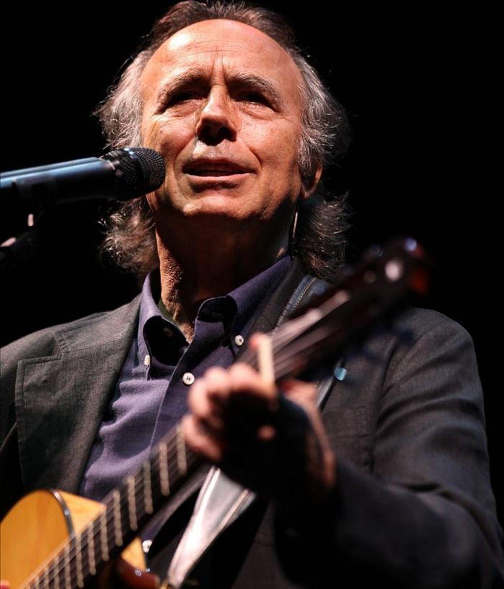 """El cantautor español Joan Manuel Serrat, declaró: """"El valor de la salud es inmenso, sin ella no puedes hacer nada"""". EFE/Archivo"""
