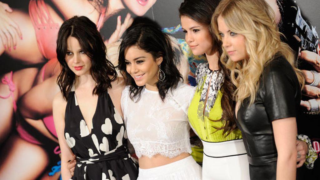 """Selena Gomez llega a Madrid para presentar la película """"Spring Breakers"""""""