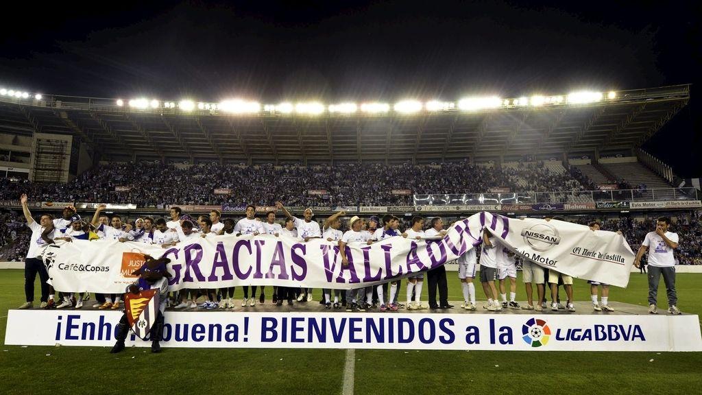 Valladolid a Primera División (EFE)