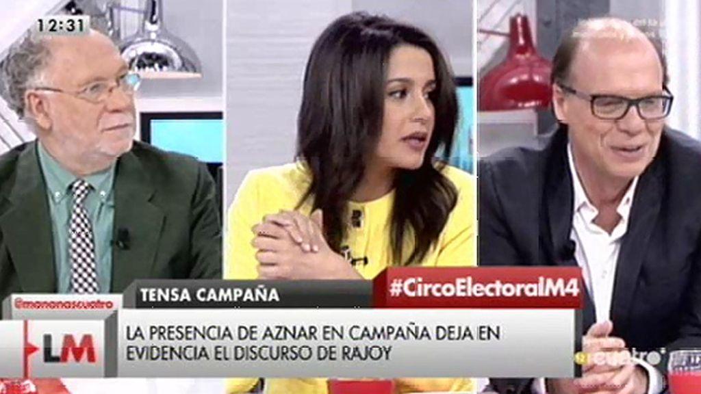 """Inés Arrimadas: """"El PP es el partido que menos está entendiendo el cambio"""""""