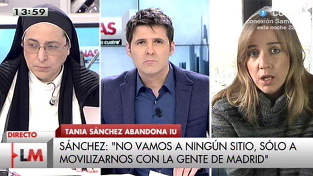 """T. Sánchez: """"Ha sido una decisión colectiva, política y fruto de sucesivos bloqueos"""""""