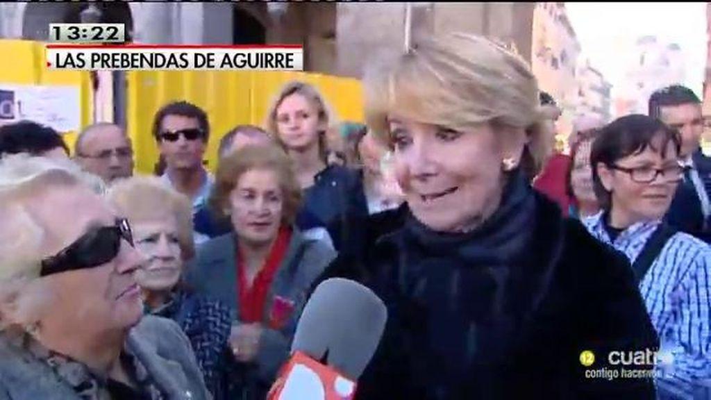 """Aguirre, en 'Las Mañanas': """"Es falso, tengo las facturas para demostrarlo"""""""