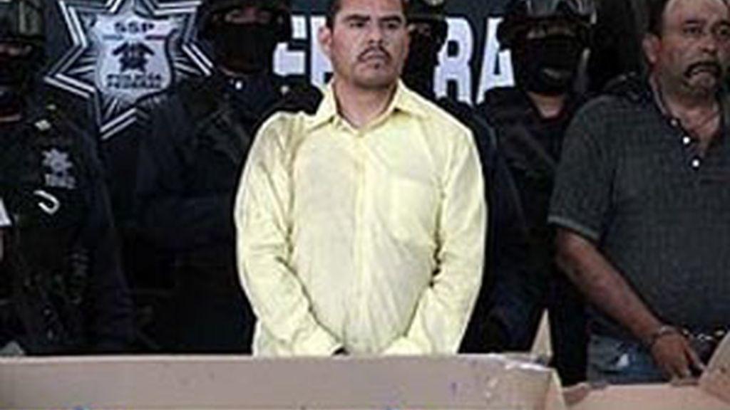 Marco Antonio Guzmán Zúñiga, alias 'El Brad Pitt'.