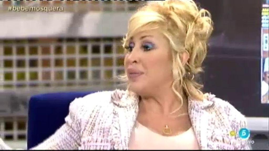"""Raquel Mosquera: """"Tony Anikpe no me ha felicitado por mi nueva maternidad"""""""