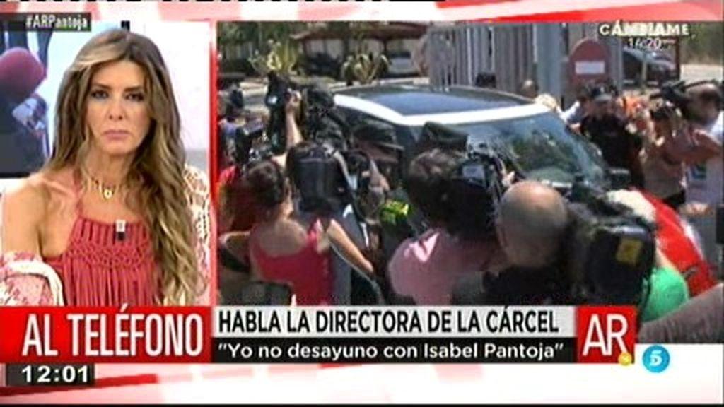 """La directora de Alcalá de Guadaira: """"Pantoja ha tenido menos privilegios que otras"""""""